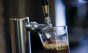 Coffee on tap: nitrogen-infused cold-brew coffee is the latest cafe culture fad.