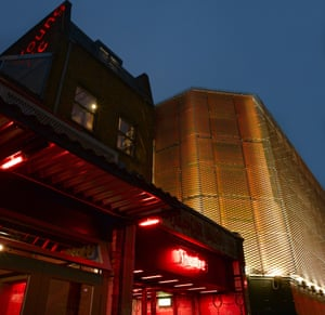 The Young Vic theatre in Lambeth, London
