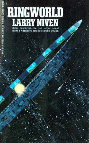 The cover of 1970 novel Ringworld by Larry Niven