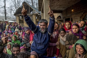Kashmiri villager