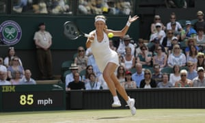 Victoria Azarenka made a run to the fourth round at Wimbledon before off-court events stalled her comeback.