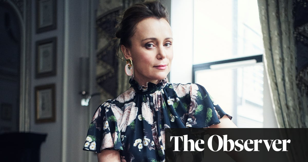 Keeley Hawes: 'We all need to be more positive'
