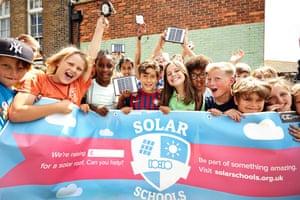 A solar schools at St Bart's, Brighton.
