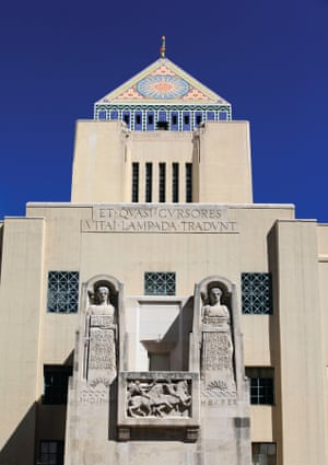 Los Angeles Central Library, 1926