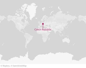 捷克共和国:定位图