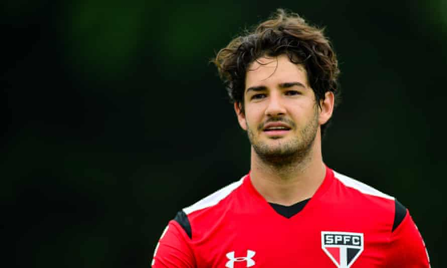 Alexandre Pato, who is set to join Chelsea on loan, has 27 caps for Brazil.