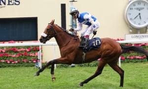 Foxes Tales' victory guarantees Oisin Murphy title as leading jockey at Royal Ascot.