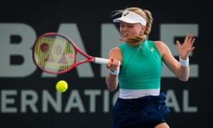 Harriet Dart is back in the main draw in Melbourne a year on from losing 6-0, 6-0 to Maria Sharapova.