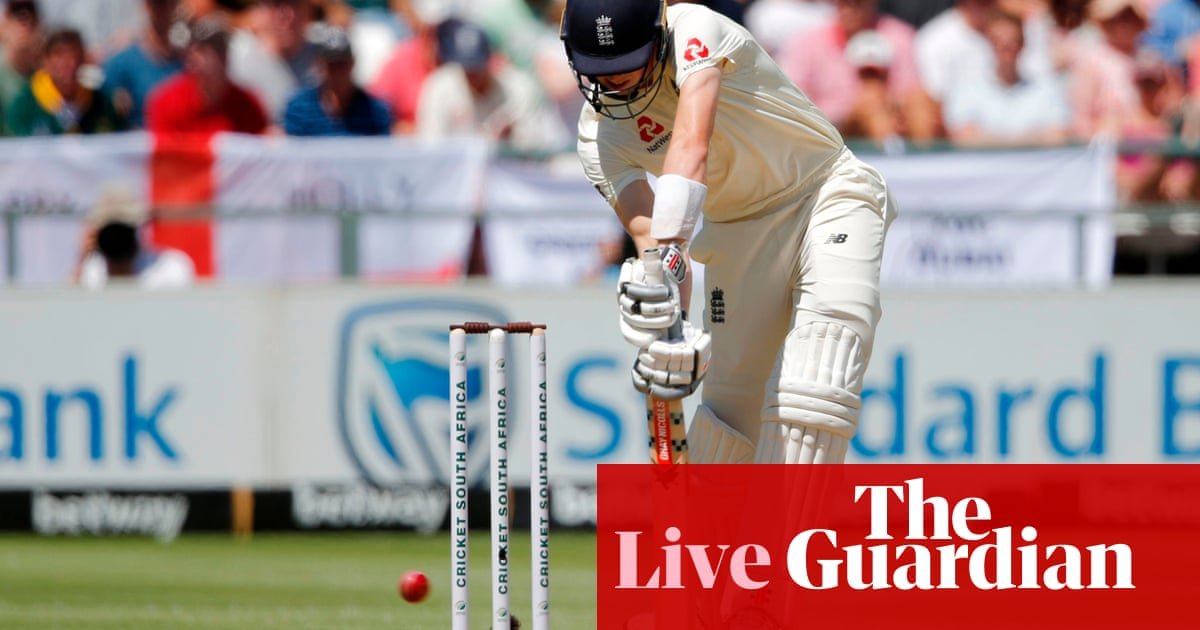 South Africa v England: second Test, day one – live!