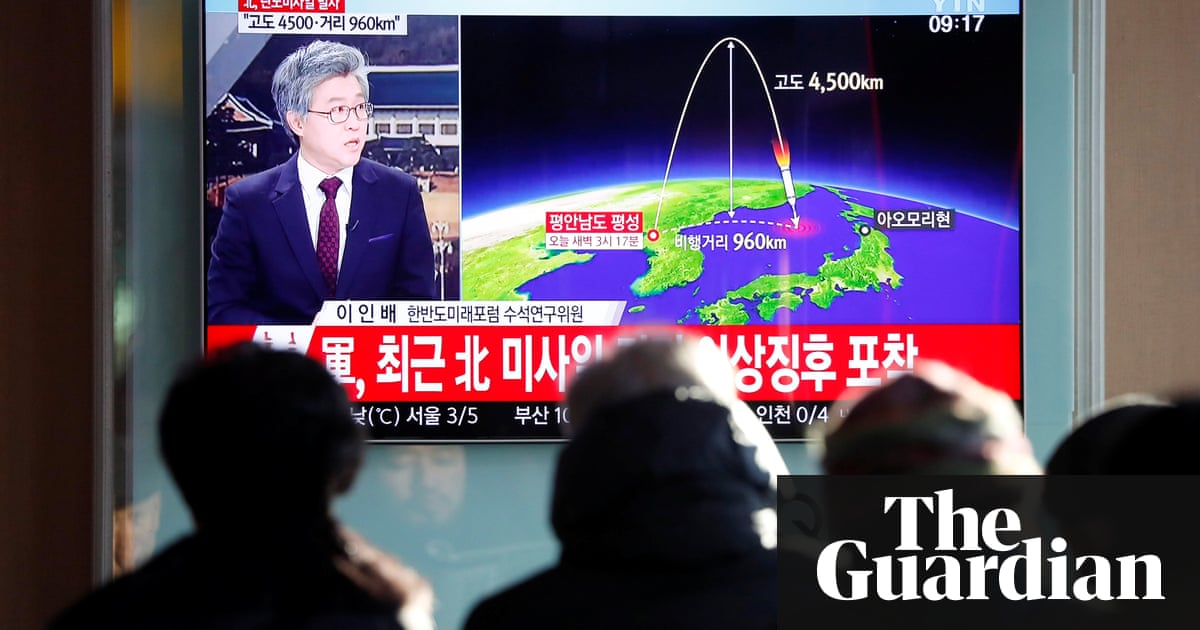 North Korea missile launch: regime says new rocket can hit anywhere in US | World  news | The Guardian