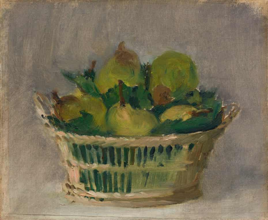 Basket of Pears, 1882 by Édouard Manet.