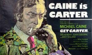 Get Carter (1971) British Quad film poster, starring Michael Caine