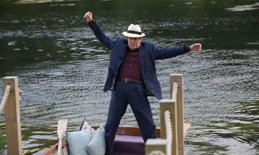 'Allam savours Fry's rich wordplay like fingers of scotch' … The Hippopotamus.
