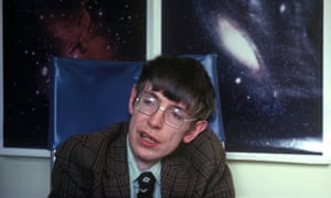 'In my case, medical care, personal life and scientific life are all intertwined' … Stephen Hawking in 1990
