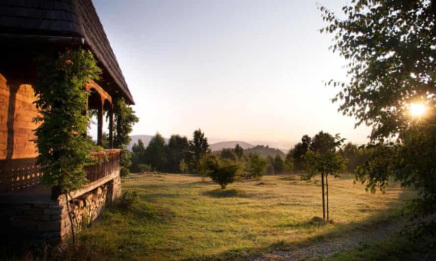 Palaga Lodge in Romania.