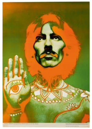 Richard Avedon: Set of posters of The Beatles, 1967 Complete set of five lithograph posters, each from the first edition.