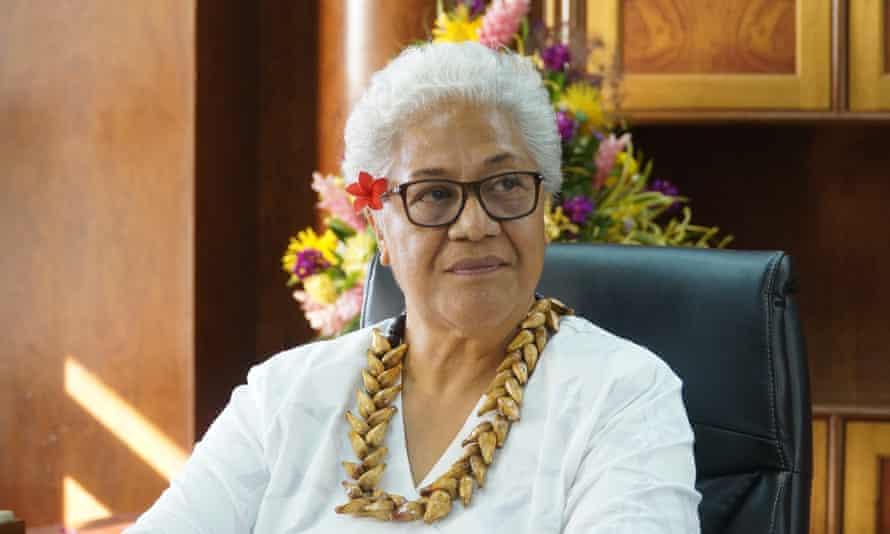 Fiame Naomi Mata'afa the first female prime minister of Samoa