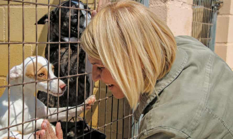 Silvia Barquero, president of the animal welfare party Pacma.