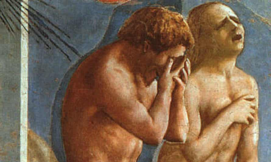 detail from Masaccio's The Expulsion from Eden