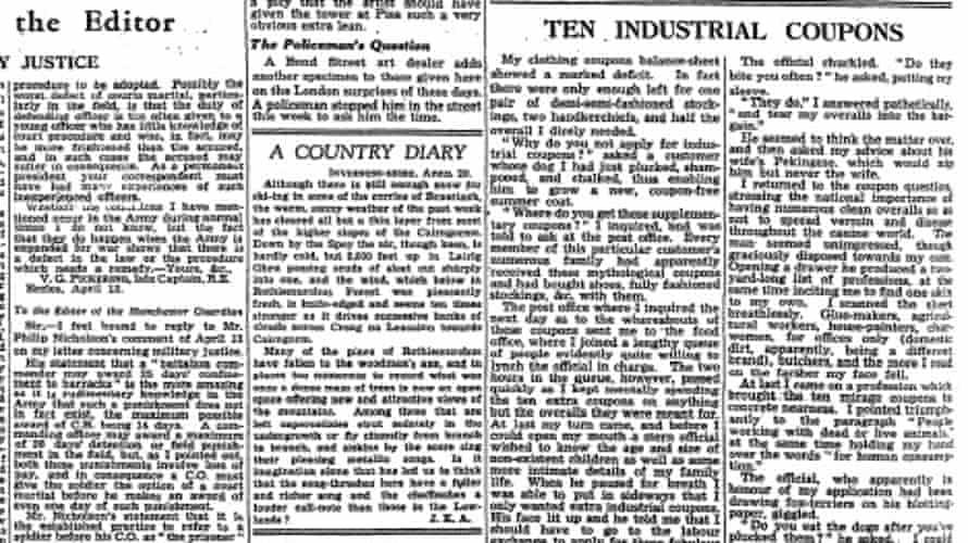 The Guardian, 24 April 1946.