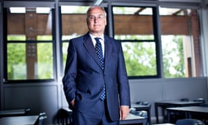 Sir Michael Wilshaw as headmaster of Mossbourne Academy, formerly the troubled Hackney Downs comprehensive, in 2011.