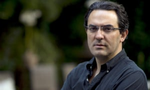 Juan Gabriel Vasquez presents himself as the central character of his book.