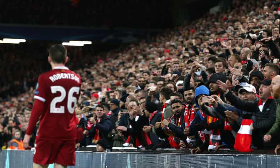Liverpool have improved dramatically since Andrew Robertson established himself as first-choice left-back.
