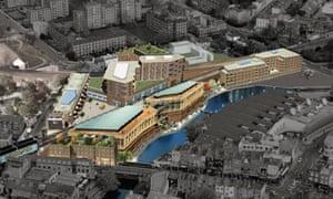 Market Tech's designs for its Camden Market project.
