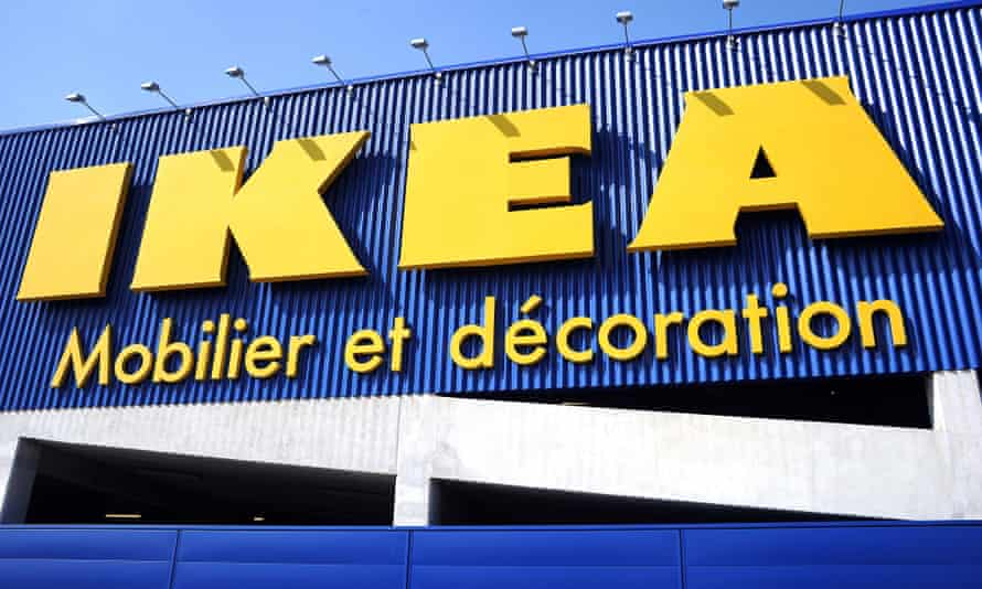 Ikea store in Montpellier, France