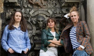 Zoë Coombs Marr, Adrienne Truscott and Ursula Martinez.