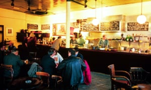 Soaring success: the Eagle, Britain's first gastropub. This pciture was taken in 1998.
