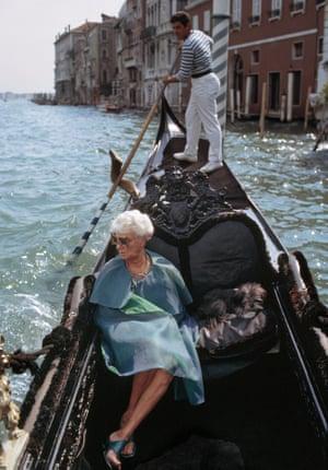Peggy Guggenheim, Venice, 1966