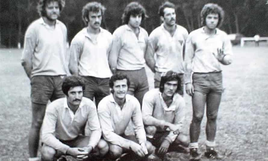 The La Plata rugby team