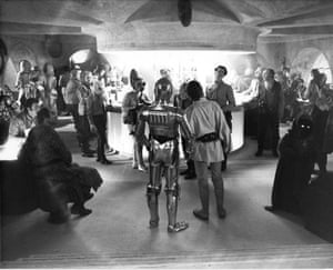 Star Wars Episode IV: A New Hope (1977) Designed some of the more elaborate aliens in the Mos Eisley cantina scene
