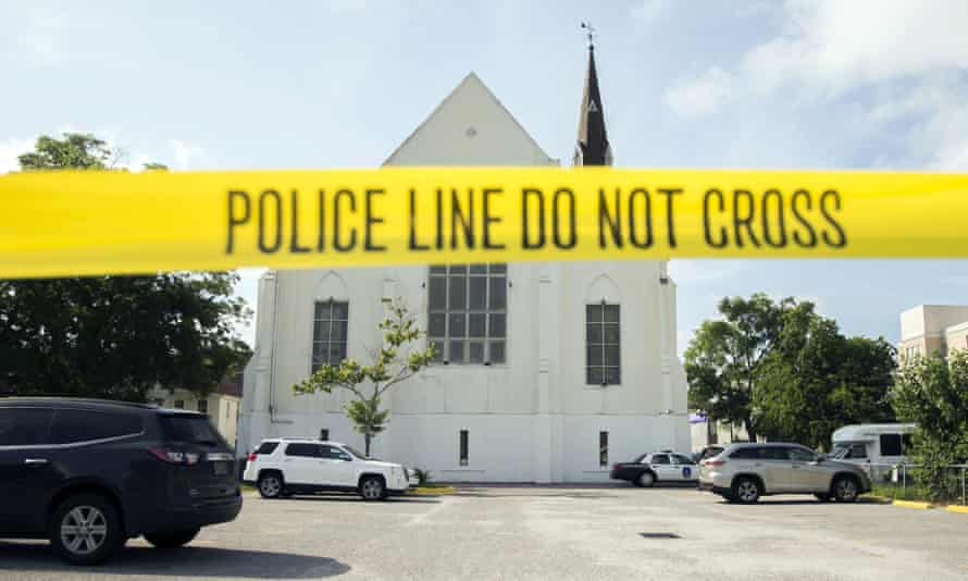 Dylann Roof fatally shot nine black church members at Emanuel AME Church in Charleston, South Carolina, on 17 June 2015.