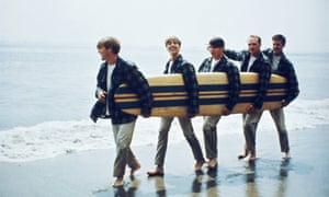 Beach Boys in Los Angeles, 1962.