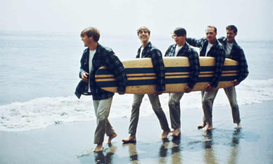 'Scrubbed clean image' ... The Beach Boys in 1962.