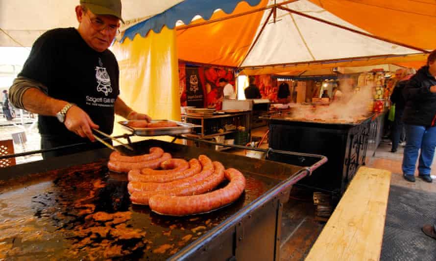 Sausage festival; food; Hungary