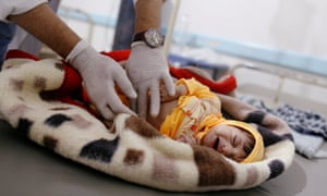 10,000 new cholera cases are reported every week, and over 85,000 children under five have starved to death.