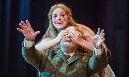 Bereft … Christina Gansch as Mélisande and Christopher Purves as Golaud in Debussy's Pelléas et Mélisande.