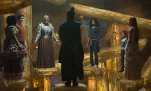 Magic circle … the new Wrinkle in Time film features Mrs Which, Mrs Who and Mrs Whatsit