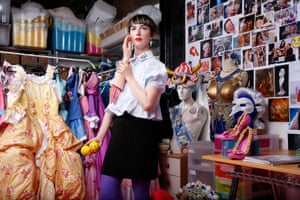 Rachel Maclean in her studio: 'The minute you're dumped into a shopping centre you feel so strangely powerless.'