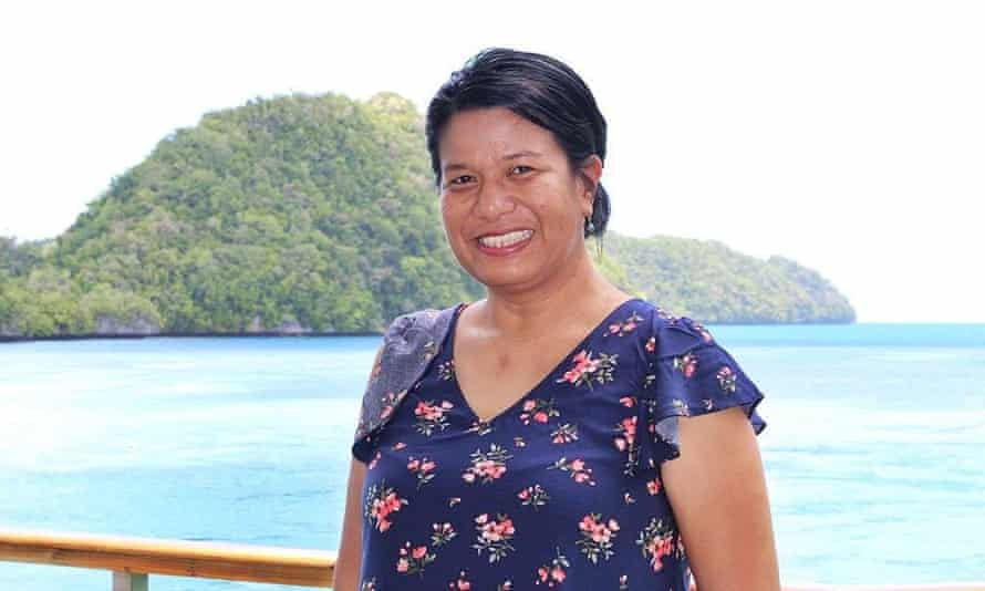 Bernadette Carreon is a reporter in Palau, which was hit by Typhoon Surigae.