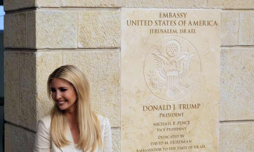 Ivanka Trump attends the opening of the US embassy in Jerusalem, where two Texas pastors notorious for insulting other religions featured prominently.
