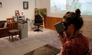 The virtual-reality experience