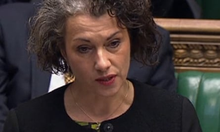 Labour MP and chair of the international development committee Sarah Champion.
