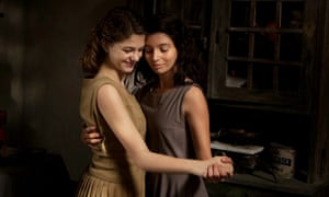 Margherita Mazzucco and Gaia Girace in My Brilliant Friend.