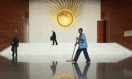 The headquarters of the African Union in Addis Ababa, Ethiopia