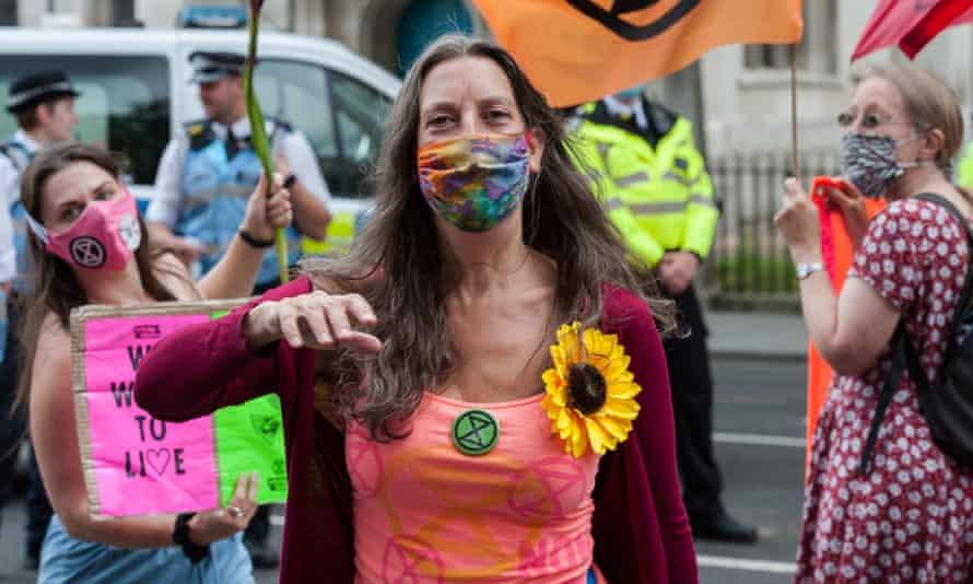 Extinction Rebellion activists
