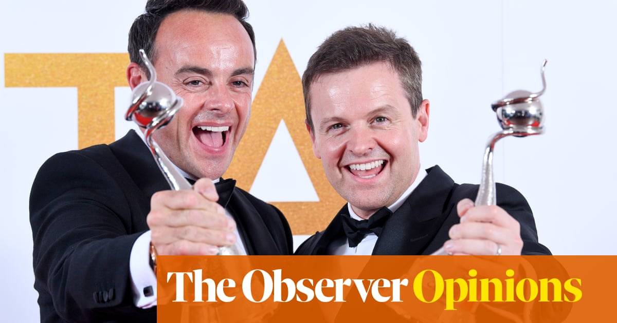 Ant and Dec, the kings of comfort TV make it 20 in a row | Rebecca Nicholson